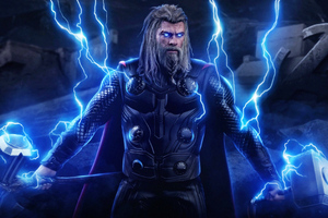 New Thor 4k Avengers Endgame Wallpaper