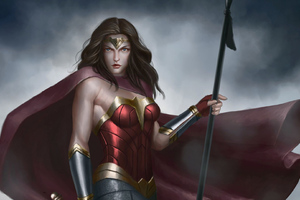 New Wonder Woman Artworks