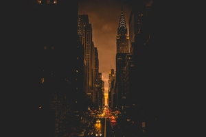 New York City Evening Wallpaper