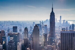 New York City Wide 8k Wallpaper