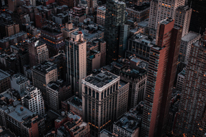 New York Empire Street Building 4k