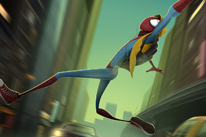 Newspider Man Art