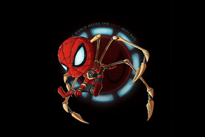 Next Iron Spider Man Wallpaper