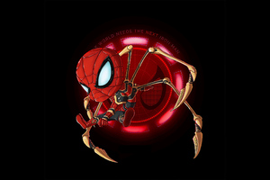 Next Iron Spider Man Art Wallpaper
