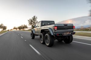 Next Level Jeep Gladiator 6x6 2021 5k Wallpaper