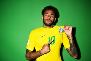 Neymar Jr Brazil Portraits