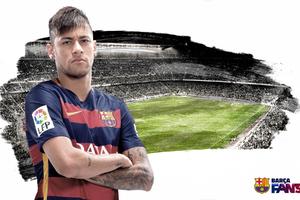 Neymar Jr Fc Barcelona Wallpaper