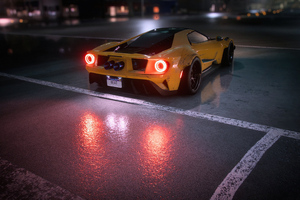 Nfs Heat Ford Gt Supercar 4k