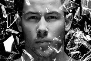 Nick Jonas Monochrome