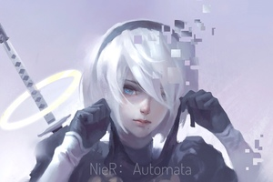Nier Automata 4k Artworks