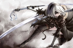 Nier Automata 4k Wallpaper