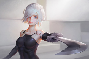 Nier Automata Artwork HD