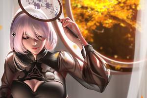 NieR Automata Fantasy Art 4k