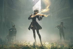 Nier Automata Music Concert Wallpaper