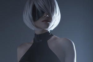 Nier Automata Short Hair Cosplay 4k Wallpaper