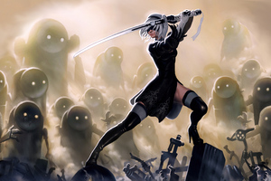 Nier Automata Warrior