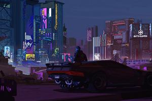 Night City Boy Cyberpunk 2077 4k Wallpaper