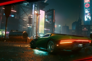 Night City Cybepunk 2077 Car