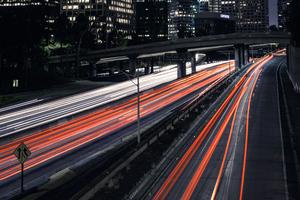 Night City Long Exposure 4k