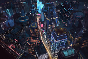 Night City Minimalist