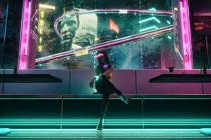 Night Club Cyberpunk 4k