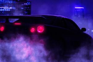 Night Drive Gtr Wallpaper