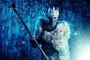 Night King 5k Cosplay Wallpaper
