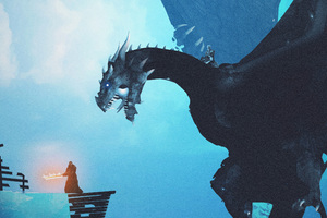 Night King Dragon Vs Lord Of Light