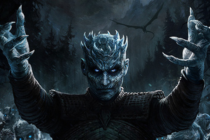 Night King Game Of Thrones Season 8 Art
