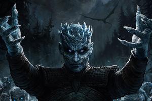 Night King Game Of Thrones Season 8 Art Wallpaper