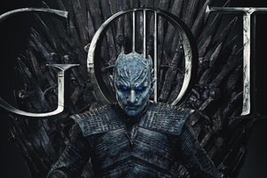 Night King Game Of Thrones Season 8 Poster