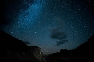 Night Out In Yosemite Wallpaper