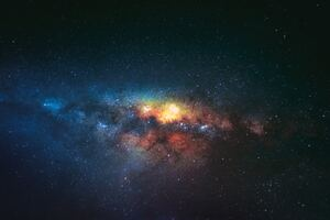 Night Sky Stars Galaxy Wallpaper
