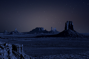 Night Space Stars 4k Wallpaper