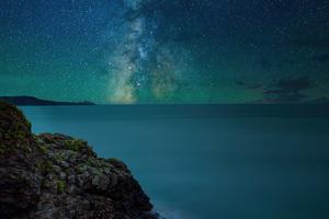 Night Stars Sky 5k Wallpaper
