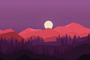 Night Time Minimal 5k Wallpaper