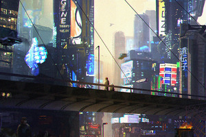 Night Time Scifi Science Fiction 5k Wallpaper