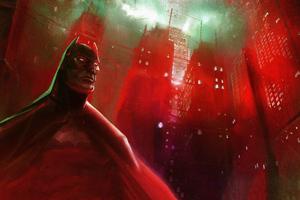 Night Watchman Batman 4k