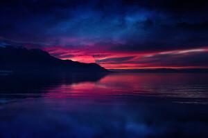 Nightfall Evening Wallpaper