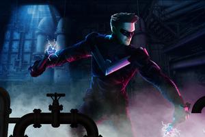 Nightwing 2020 4k Art