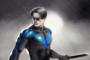 Nightwing 4k 2020 Wallpaper
