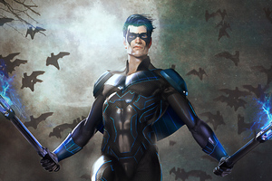Nightwing 4k Art