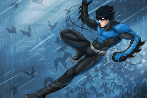 Nightwing 4k Artwork