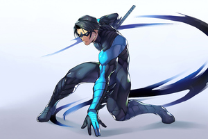 Nightwing 5k 2020 Wallpaper