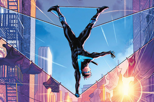 Nightwing 80 Variant Cover 4k Wallpaper