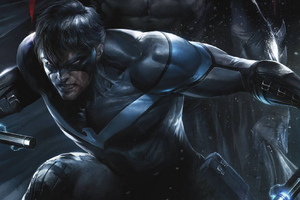 Nightwing Art