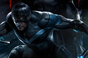 Nightwing Art New Wallpaper