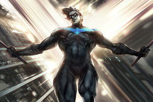 Nightwing Artwork 4k 2020