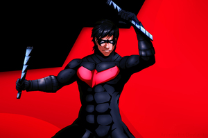Nightwing Artwork