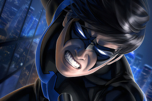 Nightwing Newarts Wallpaper
